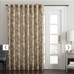 Kohl's Accents - Window Curtains - 2 Panels